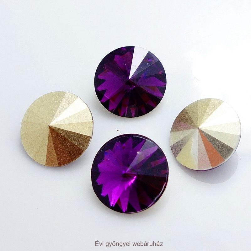 Rivoli 14mm - violet RESIN
