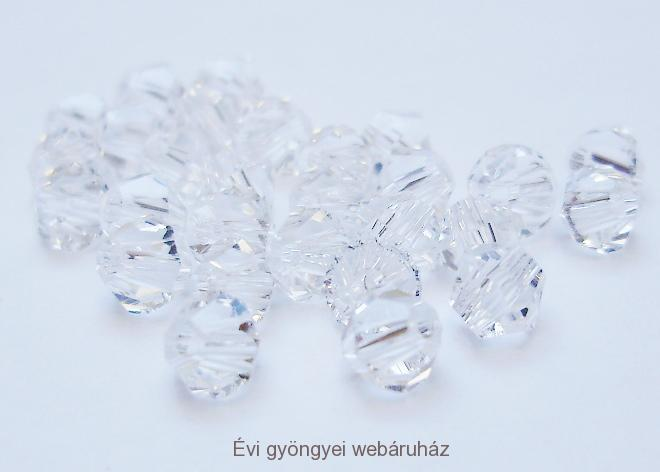 Cseh bicone 3mm - clear