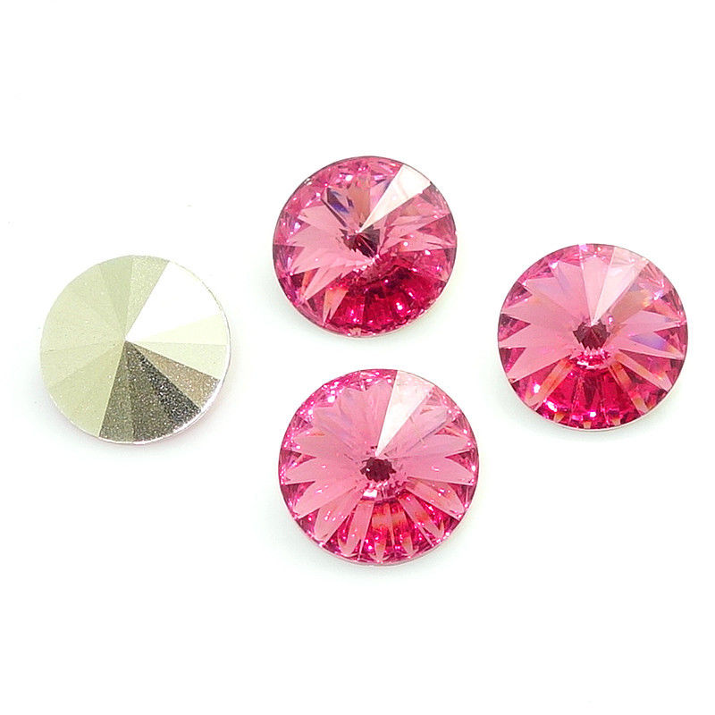 Rivoli 8mm RESIN - rose