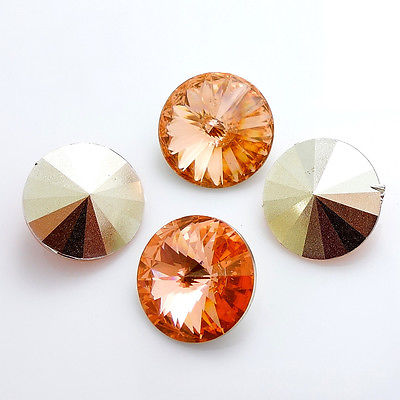 Rivoli 14mm - peach RESIN